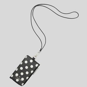 Kate Spade Staci Picture Dot Card Case Lanyard